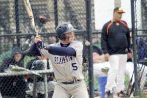 Zach Stromberg went 3-for-3 with three RBI for the Hawks. (Photos by Frank Rizzo)