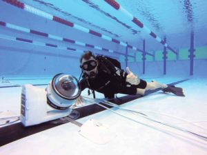 An underwater robotic camera