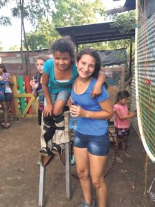Plainview's Amanda Rogers spent the summer volunteering in Nicaragua.