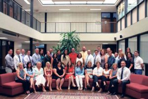 The Plainview-Old Bethpage School District welcomed 32 newly hired teachers to the district for the 2016-17 school year.