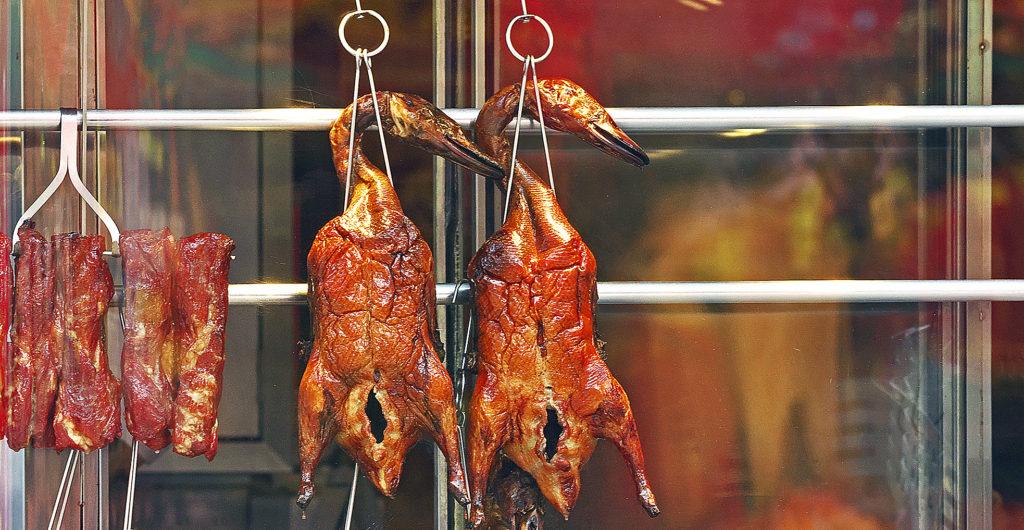 Click for a tasty Peking duck recipe.