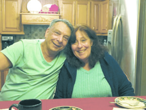 John Franco and wife Debbie