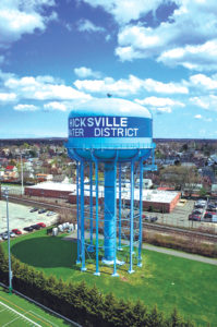 The highest concentration of 1,4-dioxane was found in a well at the Hicksville Water District.